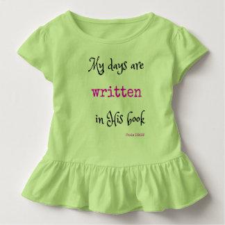 幼児のためのキリスト教のTシャツ: 聖なる書物、経典 トドラーTシャツ