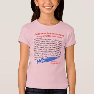 幼児のためのグルテンのティー無し Tシャツ