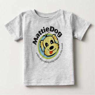 幼児のためのMattieDog ベビーTシャツ
