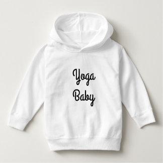 幼児のためのYogoのベビーの白いスエットシャツ パーカ