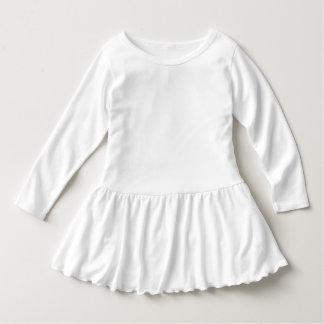 幼児のひだの服 ドレス