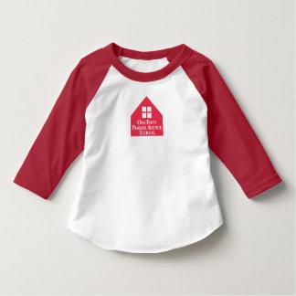 幼児のアメリカの服装3/4枚の袖のRaglanのTシャツ Tシャツ