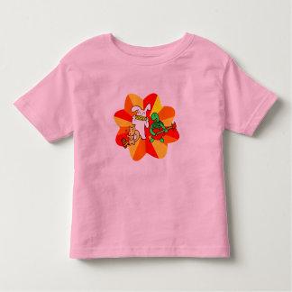 幼児のキイチゴの込み合いバンドティー トドラーTシャツ