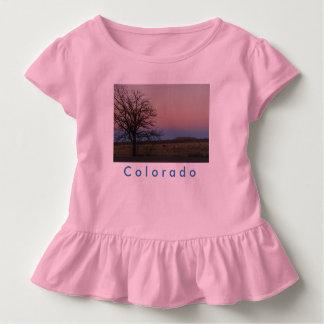 幼児のコロラド州のひだのティー トドラーTシャツ