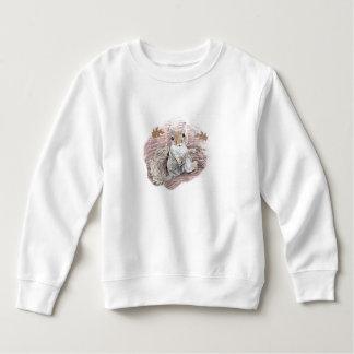 幼児のスエットシャツのリス スウェットシャツ