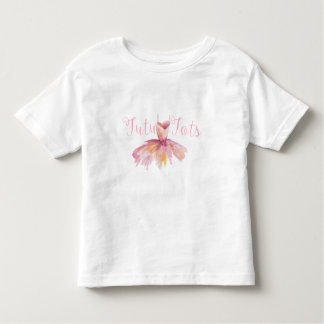 幼児のチュチュはTシャツを加えます トドラーTシャツ