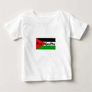 幼児のティーへのパレスチナの自由なベビー ベビーTシャツ