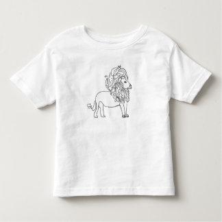 幼児のティー-ライオン トドラーTシャツ