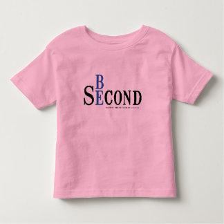 幼児のピンクのワイシャツ トドラーTシャツ