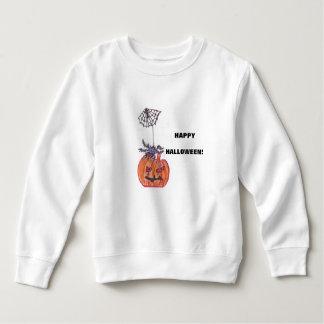 幼児のフリースのスエットシャツ-かび臭いカボチャ スウェットシャツ