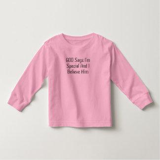 幼児のワイシャツ(特別な) トドラーTシャツ