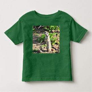 幼児の地上リスのTシャツ トドラーTシャツ