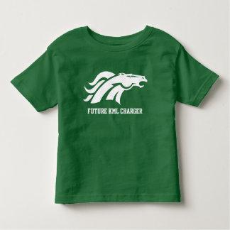 幼児の未来の充電器のTシャツ トドラーTシャツ