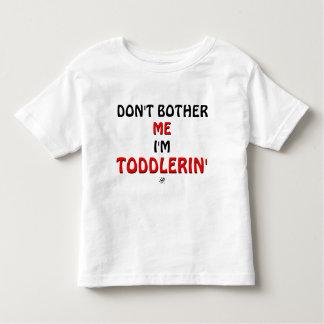 幼児の癇癪についての冗談 トドラーTシャツ