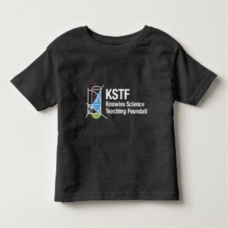 幼児の素晴らしいジャージーのTシャツ-黒、KSTF トドラーTシャツ