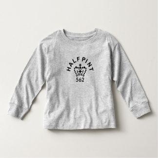 幼児の英国の半パイントのずっと袖のTシャツ トドラーTシャツ