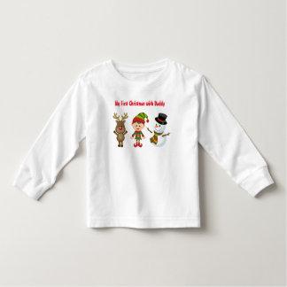 幼児の長袖のTシャツ トドラーTシャツ