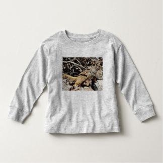 幼児の長袖のTシャツ- Sonoranのリス トドラーTシャツ