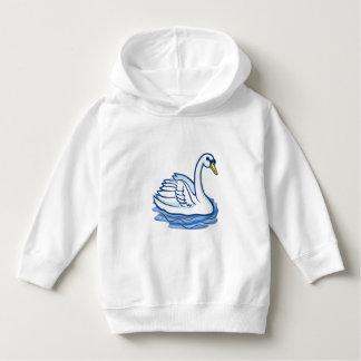 幼児の青い白鳥-セーター パーカ
