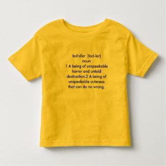 幼児のdecription トドラーTシャツ