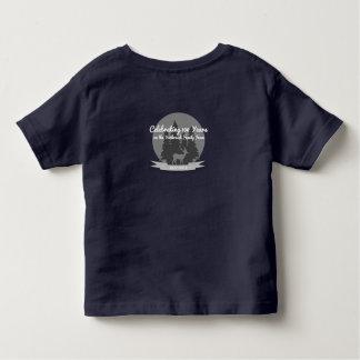 幼児のYurkovichの家族会のワイシャツ海軍 トドラーTシャツ