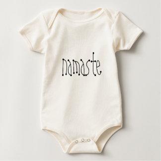 幼児オーガニックなナマステのクリーパー6か月 ベビーボディスーツ