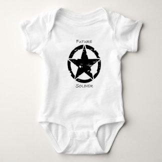 幼児クリーパーの未来の兵士 ベビーボディスーツ