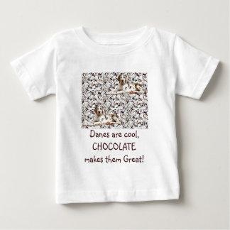 幼児チョコレートHarl T ベビーTシャツ