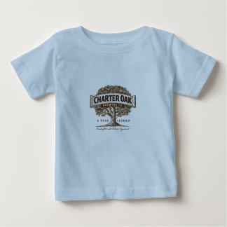 幼児デラックスなチャーターのカシのTシャツ ベビーTシャツ