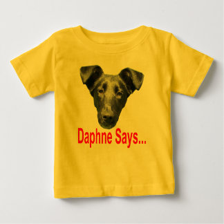 幼児ロゴ ベビーTシャツ