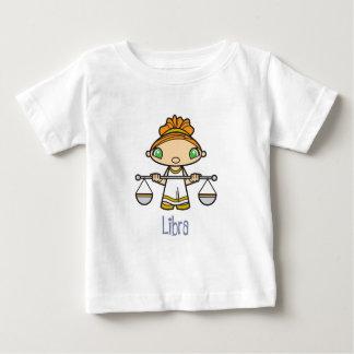 幼児天秤座のTシャツ ベビーTシャツ