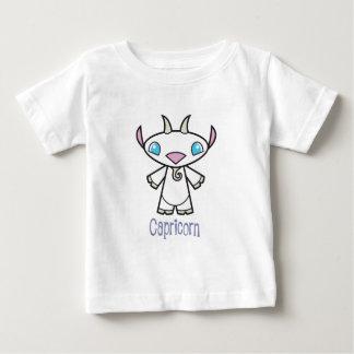 幼児山羊座のTシャツ ベビーTシャツ