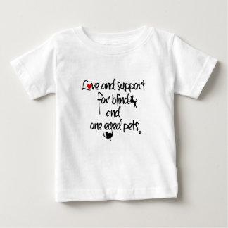 幼児愛およびサポートワイシャツ ベビーTシャツ