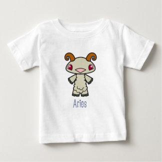 幼児牡羊座のTシャツ ベビーTシャツ