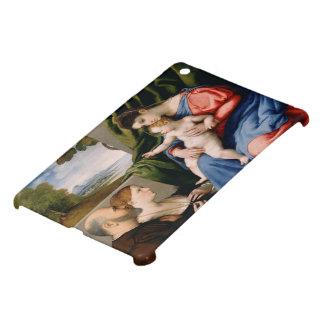 幼児聖ヨハネを持つマドンナそして子供 iPad MINIケース