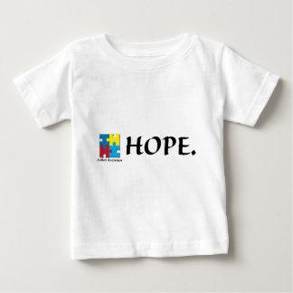 幼児自閉症のTシャツ ベビーTシャツ