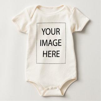 幼児長いSleeveTワイシャツのテンプレート ベビーボディスーツ