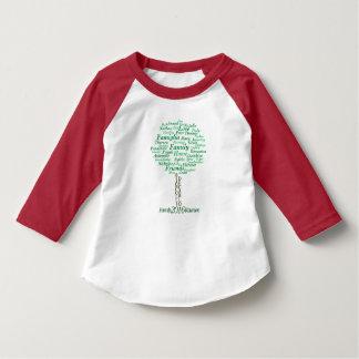 幼児3/4の袖 Tシャツ