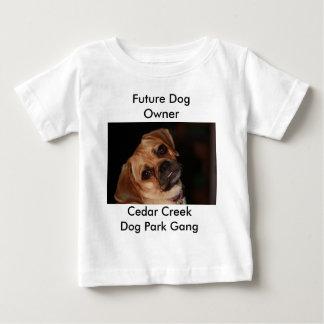 """幼児""""未来の犬のオーナー"""" ベビーTシャツ"""