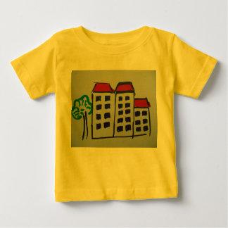 幼児Tシャツ-アパート ベビーTシャツ