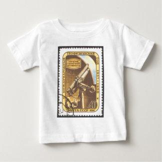 幼児Tシャツ-ソビエト社会主義共和国連邦の1957年の天文学の宇宙のスタンプ ベビーTシャツ