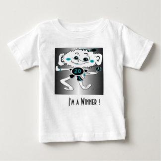"""幼児Tシャツ""""私は勝者です! """" ベビーTシャツ"""