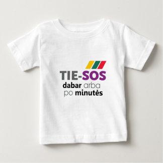 """幼児Tシャツ""""TieSOS """" ベビーTシャツ"""
