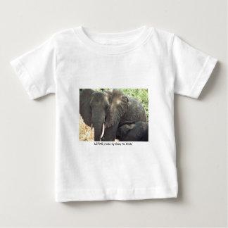 幼児T/母の象およびベビー ベビーTシャツ