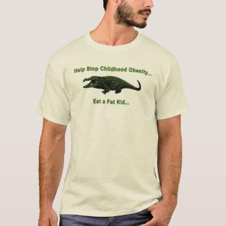 幼年期の肥満 Tシャツ