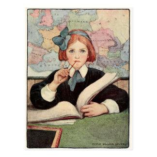 幼年期-郵便はがき5の年齢 ポストカード