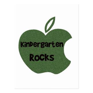 幼稚園の石 ポストカード