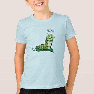 幼虫のTシャツ Tシャツ