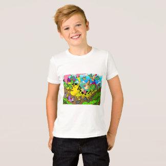 幼虫車 Tシャツ