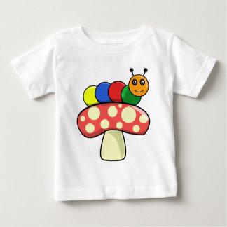 幼虫 ベビーTシャツ